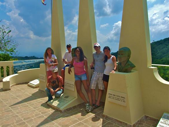 Monumento a las Marisposas, La Cumbre