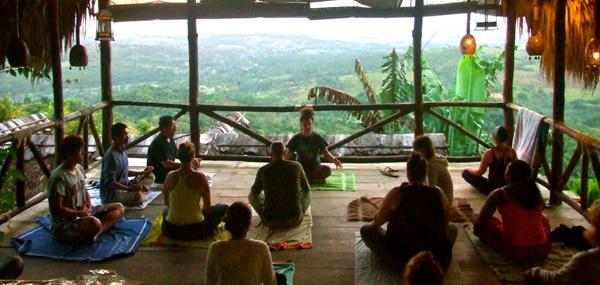 Clases de yoga, Tubagua Plantation Eco Vilage